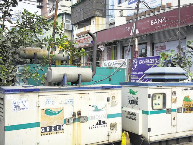 Residents and industrialists have to depend on power backup to use electrical appliances.