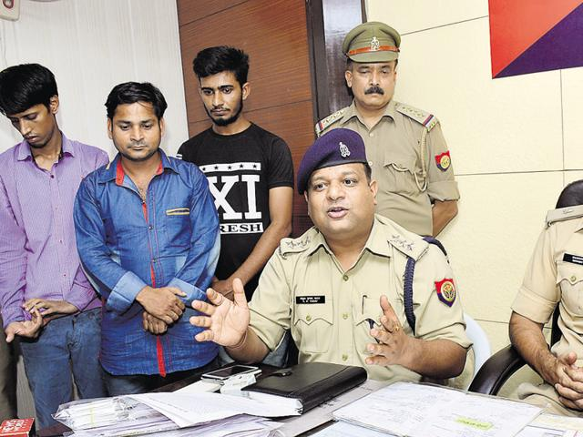 The gang has duped people from various states of more than Rs 50 lakh, the police said.