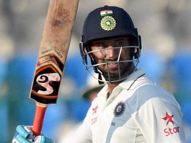 India vs New Zealand,Kanpur Test,Cheteshwar Pujara