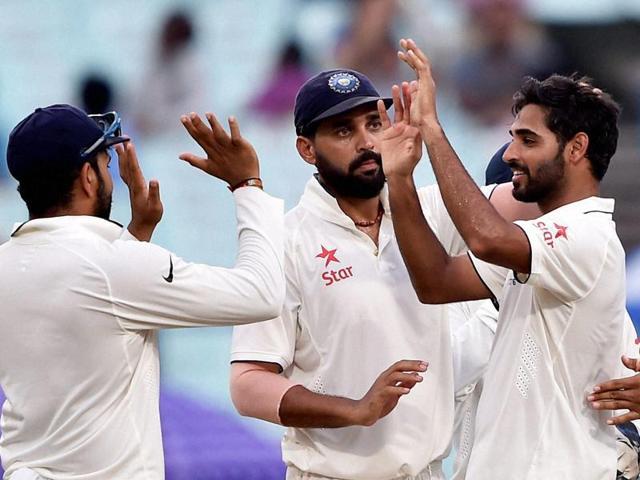 India vs New Zealand,Bhuvneshwar Kumar,Mohammed Shami