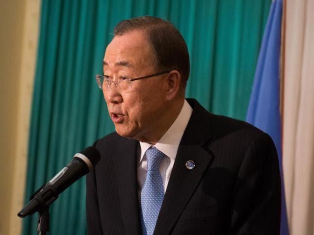 UN chief,Ban Ko moon,India-Pakistan ties