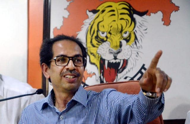 Uddhav Thackeray,Saamana,Saamana cartoon