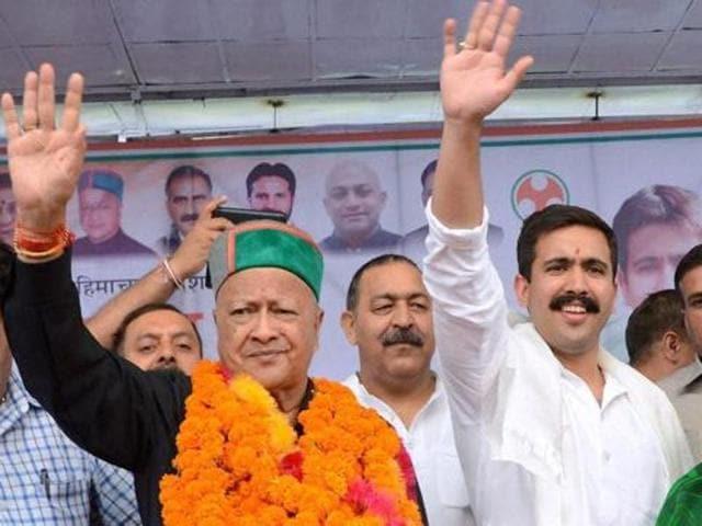 Virbhadra Singh,Vikramaditya Singh,Himachal Pradesh chief minister