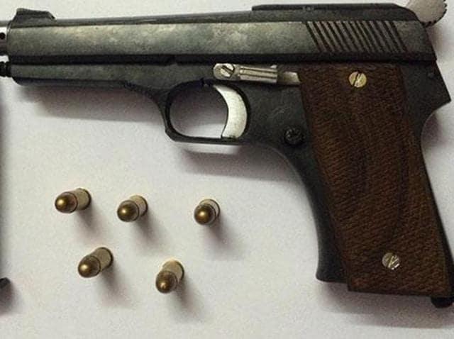 12 bore pistol