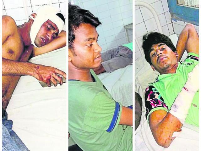 Uri attack,Pro-Pakistan slogans,4 hurt