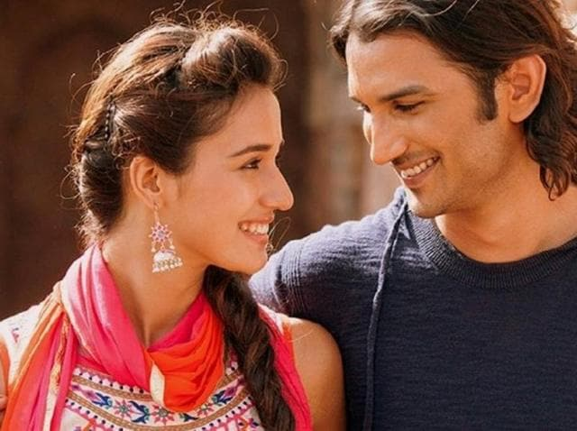 Disha Patani and Sushant Singh Rajput in a still from MSDhoni - The Untold Story.