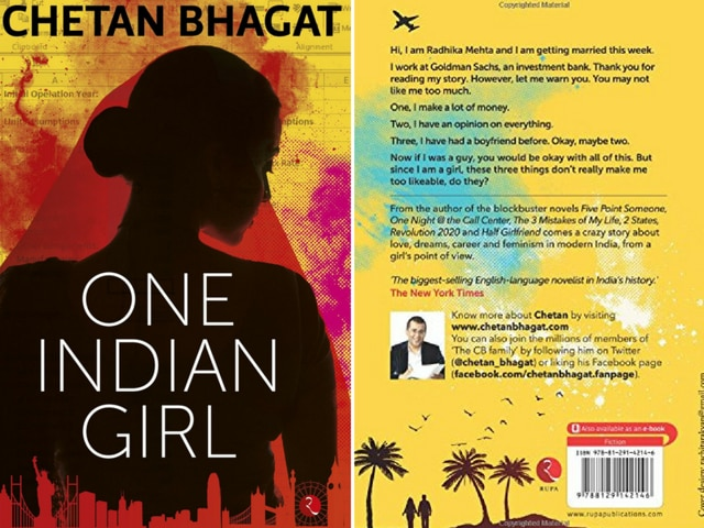 The new Chetan Bhagat novel has a female narrator but despite its bold variations, One Indian Girl largely sticks to the script