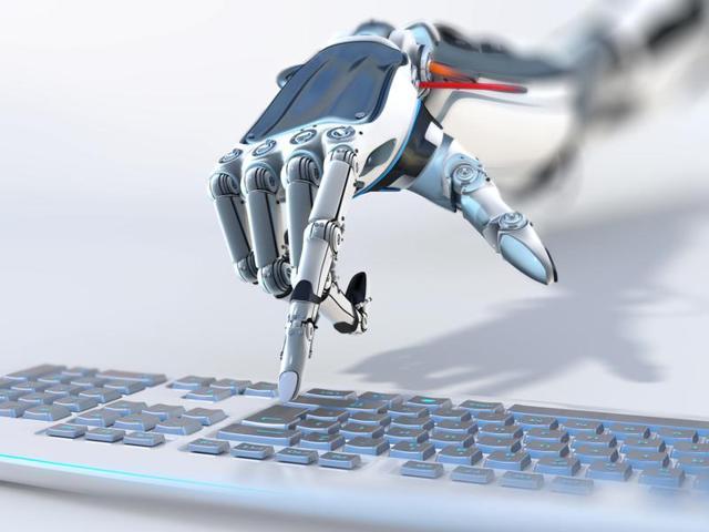 China has deployed 10 intelligent robots at three ports.