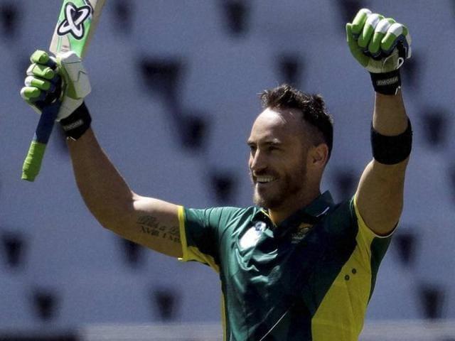 Faf Du Plessis,South Africa vs Australia,Johannesburg