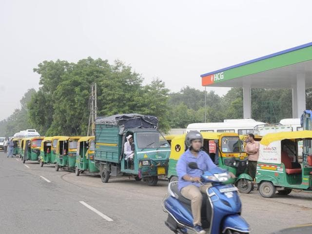 CNG price in the national capital was cut by Rs 1.40 per kg and piped cooking gas by Re 1 per standard cubic metre on Sunday.