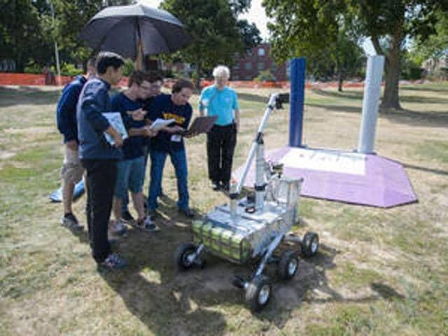 NASA award,Mountaineers of Morgantown,NASA's Sample Return Robot Challenge