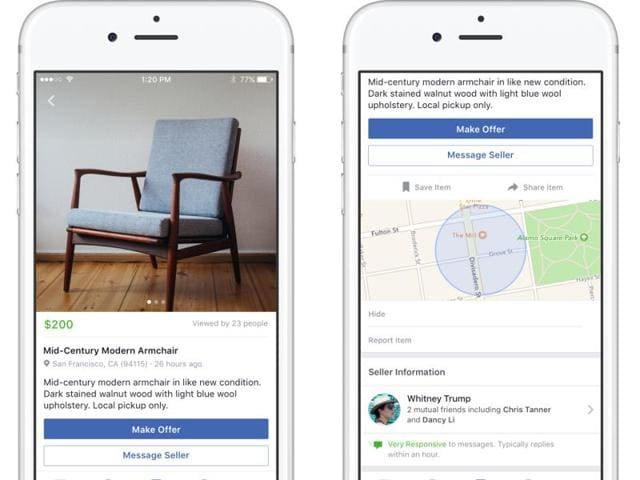 Facebook said new 'Markertplace' formalises what some members have already been doing in Facebook Groups for years.