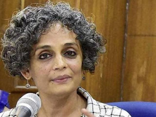 Arundhati Roy's last book, The God of Small Things, which was also her first, was published 19 years ago in 1997.(HT Photo)