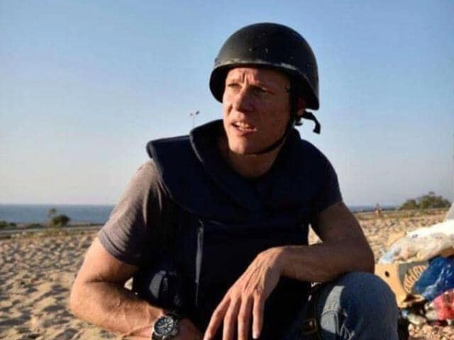 Dutch photographer Jeroen Oerlemans died in sniper fire while covering battles in Sirte.