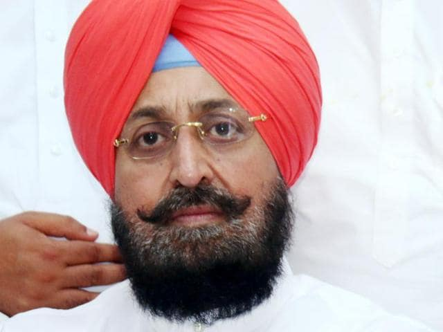 MP Partap Singh Bajwa at a Congress programme in Bathinda on Monday.