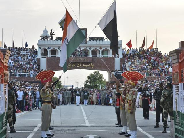 "In 2010, a BSF official said it was an ""undignified ceremony"" which caused mental strain to the troops and both sides had agreed to tone down the aggressive rhetoric"