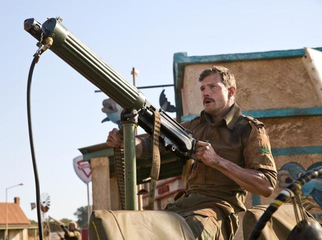 Jamie Dornan ditches the psychopaths for once in The Siege of Jadotville.(Netflix)