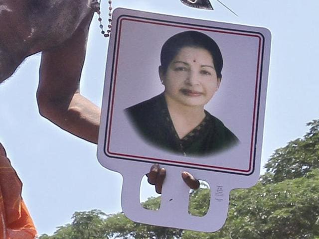 An Amma follower pierces his skin and hangs from a crane for 45 minutes, in penance and prayers for well being of Jayalalithaa. This is a scene at Senniamman temple in RK Nagar, the constituency that the chief minister represents in state assembly.