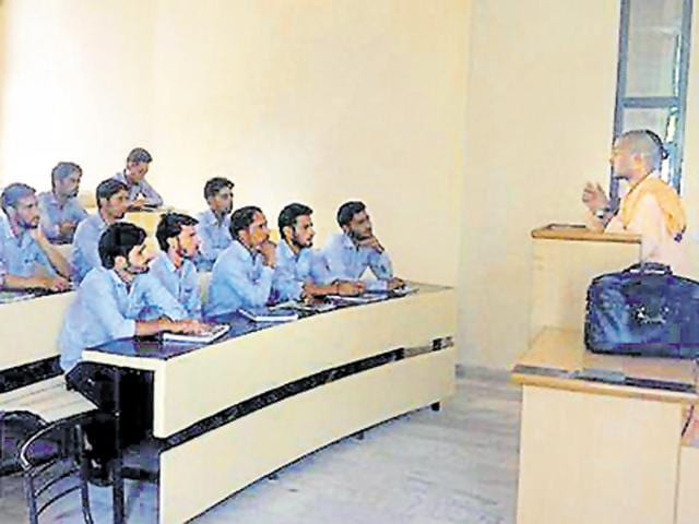 Every year hundreds of Kashmiri students come to Rajasthan for higher education.