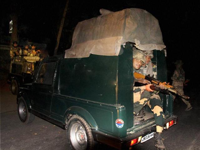Baramulla attack,Rashtriya Rifles,LoC