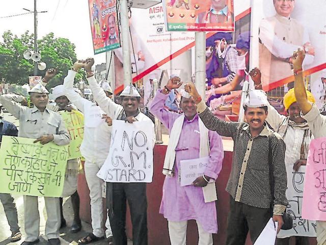 Bhopal,Farmers from Jhabua protest,GM mustard seeds