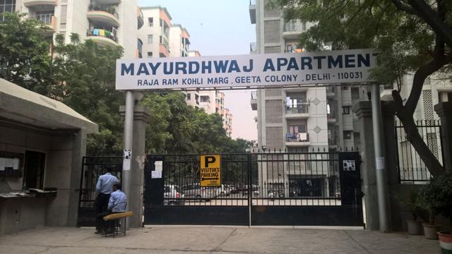 Rishi's family had shifted to Mayurdhwaj Apartment in Geeta Colony around two months back.(Handout)