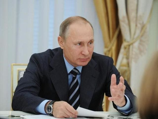 Russian President Vladimir Putin on Monday ordered a halt to an agreement with the United States on plutonium disposal, citing Washington's 'unfriendly actions'.