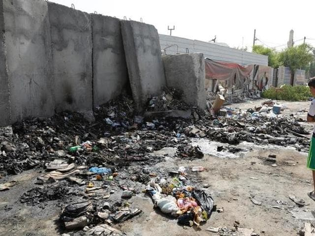 Suicide bombings in Baghdad