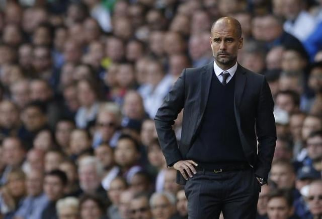 Guardiola said Spurs are further along their development than City are currently and it'll take time for the Manchester side to develop to full potential.