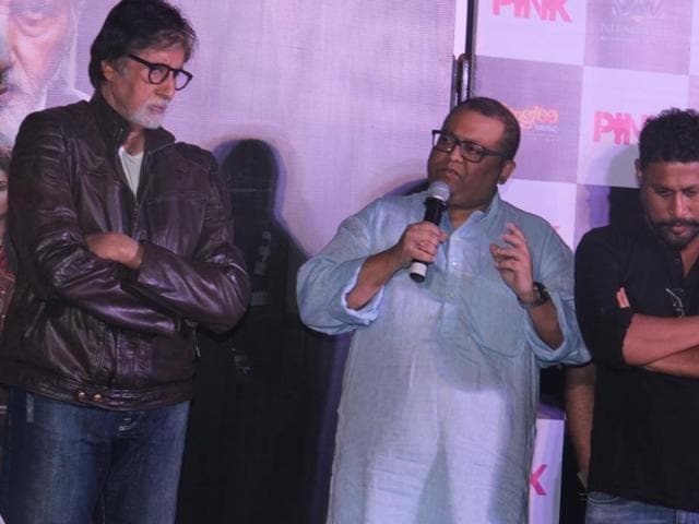 Pink was inspired by the Park Street rape incident, different anecdotes and experiences that director Aniruddha Roy Chowdhury's female friends have shared with him.