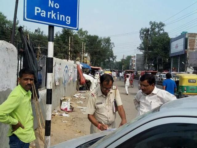 The traffic police have generated over Rs 2crore as fines from as many as 85,000 erring drivers during special enforcement drives that began across Gurgaon 45 days ago.