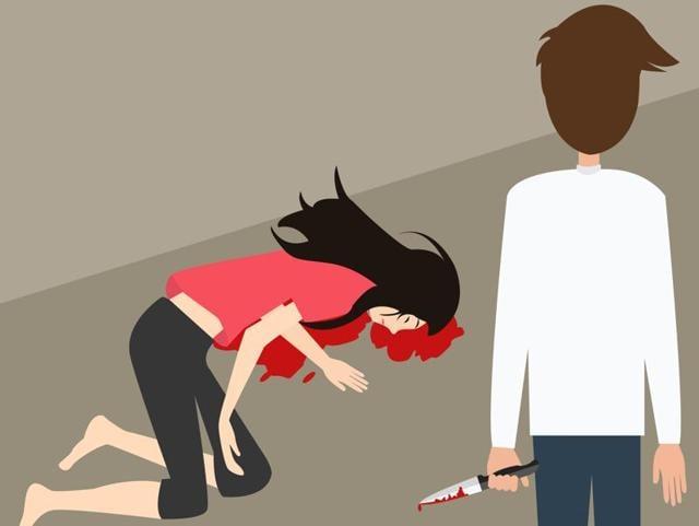 New Zealand,Indian stabs girlfriend,Murder