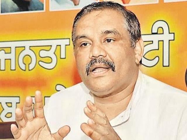 BJP,Vijay Sampla,Punjab polls