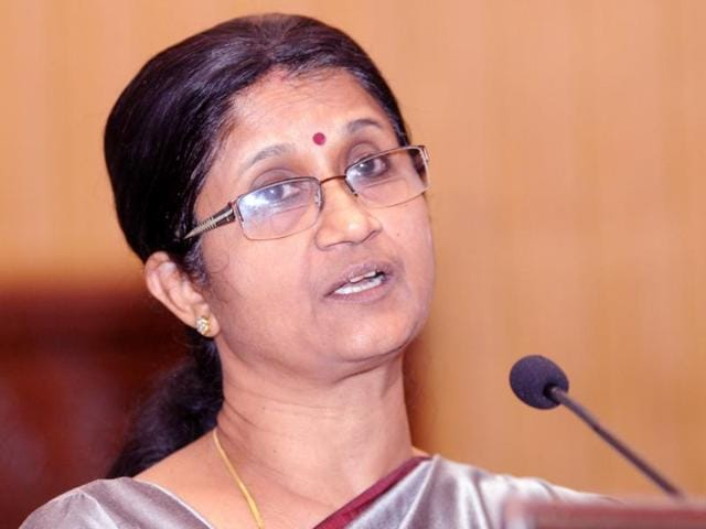 Retired IAS office Sheela Balakrishnan is being credited with running the Tamil state government while chief minister J Jayalalithaa remains hospitalised.