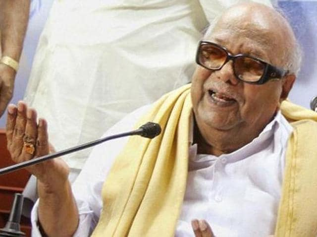 DMK patriarch M Karunanidhi said the Centre's decision against setting up the Cauvery Management Board was aimed at the Karnataka assembly elections, which is due in a few months.