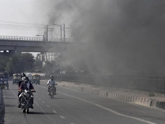 "The worst air quality was reported from west Delhi's Punjabi Bagh – where the air quality index (AQI) was 500, the maximum possible rating of ""severe""."