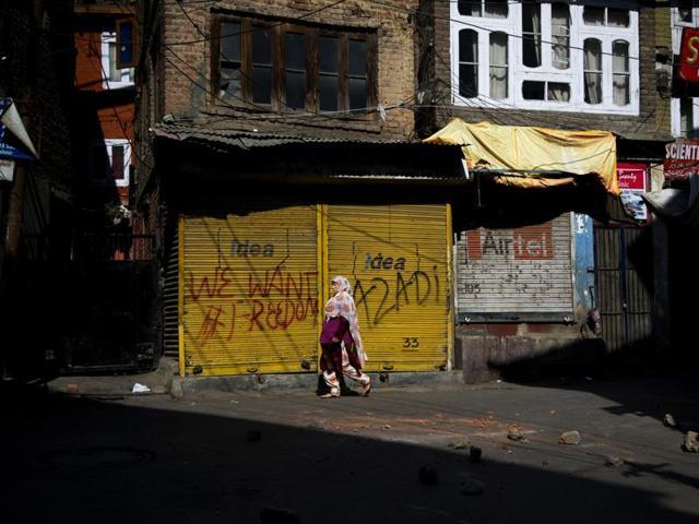 Kashmir protests,Burhan Wani,Kashmir