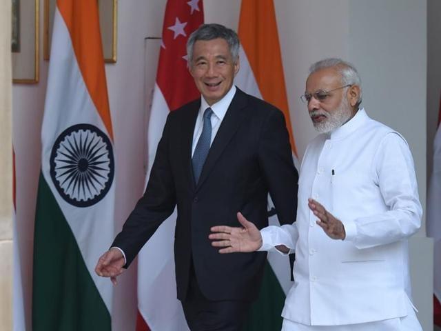 India,Singapore,PM Narendra Modi