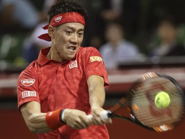Nishikori is favourite to win a third Tokyo title after defending champion Stan Wawrinka pulled out with a back injury.