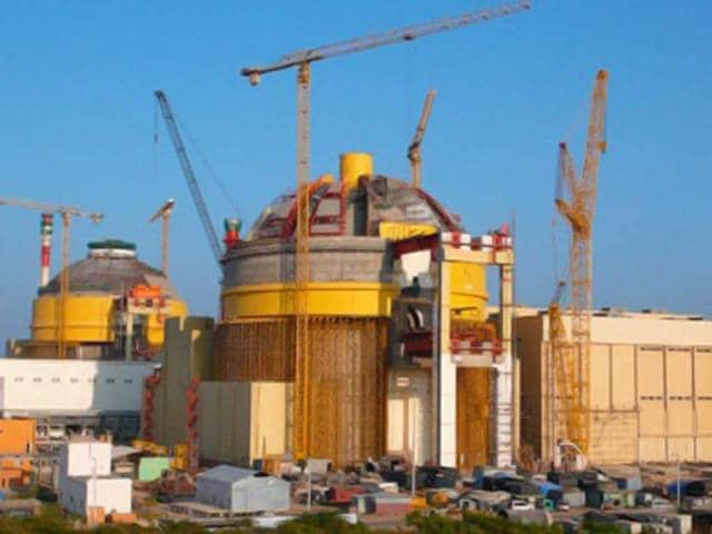 The Kudankulam nuclear plant in Tamil Nadu has 163 fuel assemblies. Of these, around 54 are being replaced with new ones.