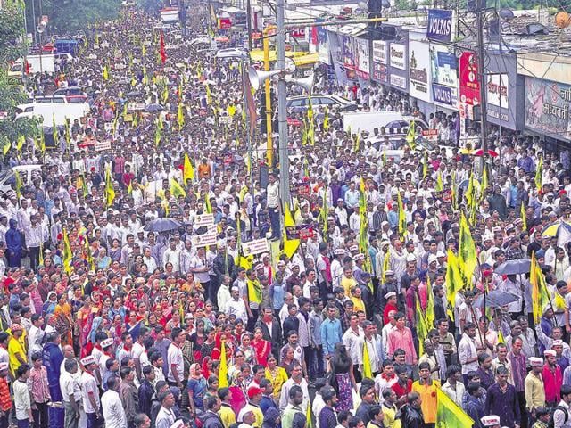 Marathas,Protests,Silent March