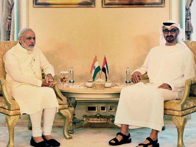 Narendra Modi,Abu Dhabi,Dubai
