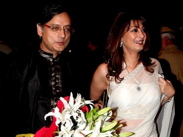 51-year-old Sunanda was found dead at a suite in a five- star hotel in South Delhi on the night of January 17, 2014, a day after her spat with Pakistani journalist Mehr Tarar on Twitter over the latter's alleged affair with Tharoor.