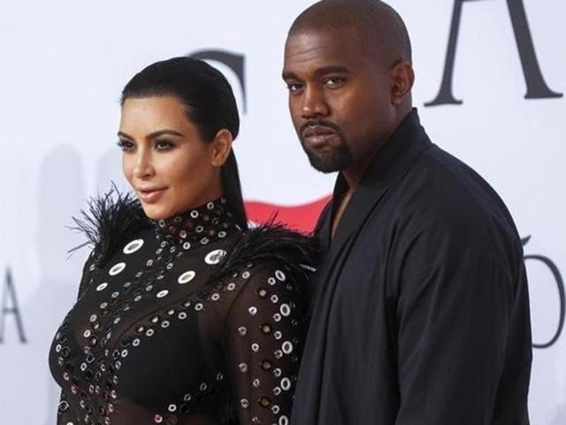 Kim Kardashian,Kanye West,Kanye