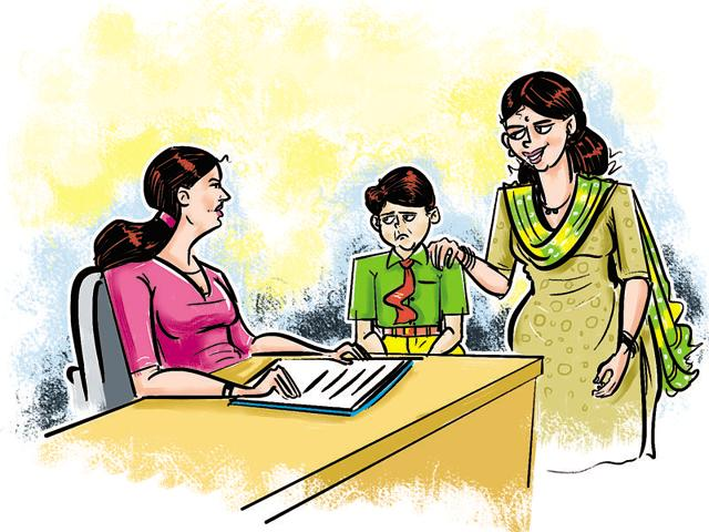 Child development specialists said that schools must send undisciplined students to counsellors.
