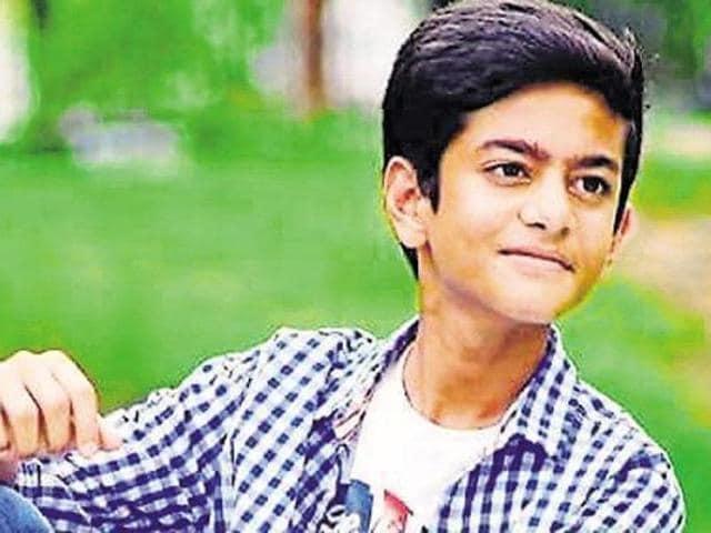 DAV student,Atharva Gupta,suicide
