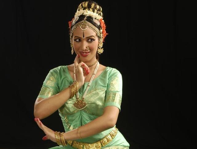 Kuchipudi dancer Shloka Vaidialingam.