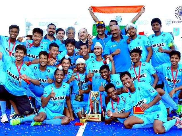 This was the second time that India has won the U-18 Asia Cup title.