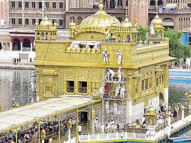 The Golden Temple management says fewer tourists are visiting the shrine these days.