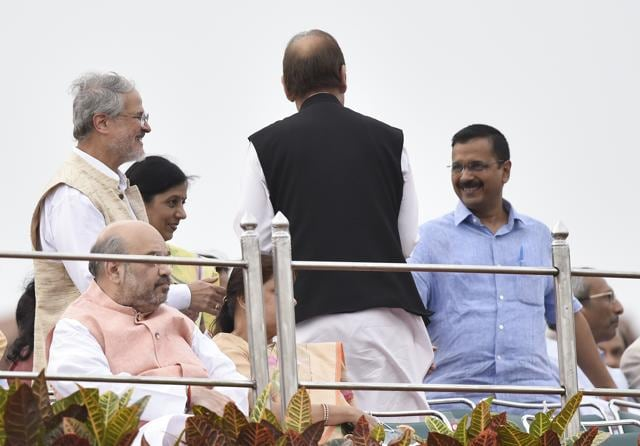 Jung and Kejriwal have not met officially for months, barring formal encounters at official functions such as an 'At Home' party hosted by President Pranab Mukherjee on Independence Day.